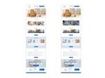 包装梱包資材、シュリンク包装企業の新規ウェブデザインのみ(コーディングなし)への提案