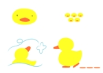 takusanさんのアヒルのロゴ(刺繍用)への提案