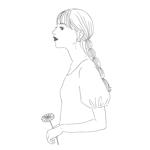 n_rihoさんのスタイリッシュな女性の線画・ラインアートイラスト募集/新規オープンのマツエクサロンのロゴに使用への提案