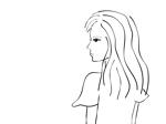Ozosさんのスタイリッシュな女性の線画・ラインアートイラスト募集/新規オープンのマツエクサロンのロゴに使用への提案