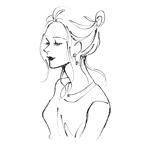 kuonさんのスタイリッシュな女性の線画・ラインアートイラスト募集/新規オープンのマツエクサロンのロゴに使用への提案