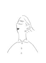 1480-3さんのスタイリッシュな女性の線画・ラインアートイラスト募集/新規オープンのマツエクサロンのロゴに使用への提案