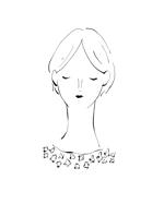 o0_uniさんのスタイリッシュな女性の線画・ラインアートイラスト募集/新規オープンのマツエクサロンのロゴに使用への提案