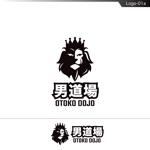 fs8156さんのメンズサロン・メンズファッションブランド『男道場』のロゴへの提案