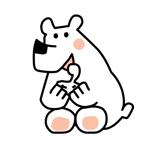 love-miyakoさんの商品パッケージに使用する「しろくま」のイラストへの提案