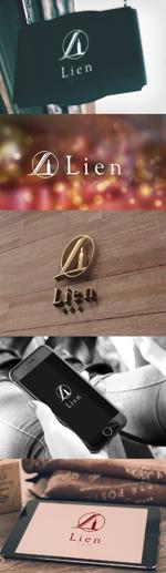 katsu31さんのワインショップ「Lien~リアン」のロゴ作成への提案