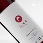 doremidesignさんのワインショップ「Lien~リアン」のロゴ作成への提案