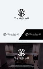 take5-designさんの民泊屋号「TOMALOUNGE」のロゴデザインへの提案