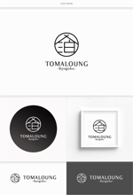 DeeDeeGraphicsさんの民泊屋号「TOMALOUNGE」のロゴデザインへの提案