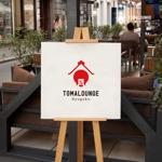 doremidesignさんの民泊屋号「TOMALOUNGE」のロゴデザインへの提案