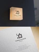 skliberoさんの民泊屋号「TOMALOUNGE」のロゴデザインへの提案