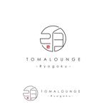 syotagotoさんの民泊屋号「TOMALOUNGE」のロゴデザインへの提案