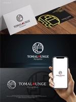 maharo77さんの民泊屋号「TOMALOUNGE」のロゴデザインへの提案
