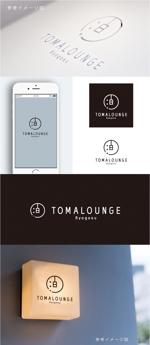 smoke-smokeさんの民泊屋号「TOMALOUNGE」のロゴデザインへの提案