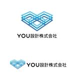 Atelier08さんのホームページで使用する「YOU設計株式会社」ロゴへの提案