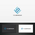 karinworksさんのホームページで使用する「YOU設計株式会社」ロゴへの提案
