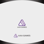 Nakamura__さんのオンラインゲーム会社「AAA GAMES Inc.」のロゴへの提案