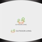Nakamura__さんのアウトドア施設の運営会社「株式会社OUTDOOR LIVING」のロゴへの提案