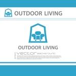 chopin1810lisztさんのアウトドア施設の運営会社「株式会社OUTDOOR LIVING」のロゴへの提案