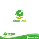 oo_designさんのアウトドア施設の運営会社「株式会社OUTDOOR LIVING」のロゴへの提案