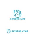 marutsukiさんのアウトドア施設の運営会社「株式会社OUTDOOR LIVING」のロゴへの提案