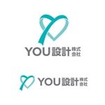 ホームページで使用する「YOU設計株式会社」ロゴへの提案