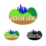 shimo1960さんのアウトドア施設の運営会社「株式会社OUTDOOR LIVING」のロゴへの提案