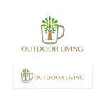 cozouさんのアウトドア施設の運営会社「株式会社OUTDOOR LIVING」のロゴへの提案