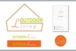c3_5250さんのアウトドア施設の運営会社「株式会社OUTDOOR LIVING」のロゴへの提案