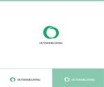 web-pro100さんのアウトドア施設の運営会社「株式会社OUTDOOR LIVING」のロゴへの提案