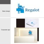 gcrepさんのエンターテインメント会社 「Regalot」のロゴへの提案