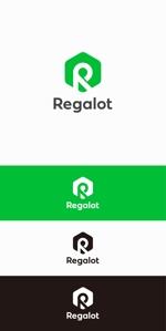 designdesignさんのエンターテインメント会社 「Regalot」のロゴへの提案