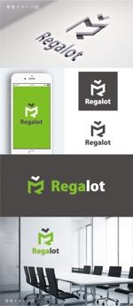 smoke-smokeさんのエンターテインメント会社 「Regalot」のロゴへの提案