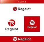 FISHERMANさんのエンターテインメント会社 「Regalot」のロゴへの提案