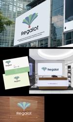 Atelier08さんのエンターテインメント会社 「Regalot」のロゴへの提案