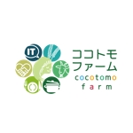 m2ukimchさんの農業法人「ココトモファーム」のロゴへの提案