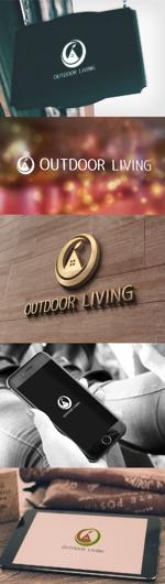 katsu31さんのアウトドア施設の運営会社「株式会社OUTDOOR LIVING」のロゴへの提案