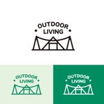 singstyroさんのアウトドア施設の運営会社「株式会社OUTDOOR LIVING」のロゴへの提案