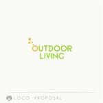 kamemzさんのアウトドア施設の運営会社「株式会社OUTDOOR LIVING」のロゴへの提案