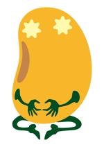 hico6さんの【遊び心求む】「豆」のキャラクターデザイン(シンプル・シュール・ブサイク)『サンプルあり』への提案