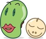 tetsuyaNさんの【遊び心求む】「豆」のキャラクターデザイン(シンプル・シュール・ブサイク)『サンプルあり』への提案