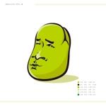 masa_2goさんの【遊び心求む】「豆」のキャラクターデザイン(シンプル・シュール・ブサイク)『サンプルあり』への提案