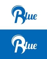 インターネットの広告運用・ウェブメディア運営を行う「Blue株式会社」のロゴへの提案