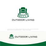 drkigawaさんのアウトドア施設の運営会社「株式会社OUTDOOR LIVING」のロゴへの提案