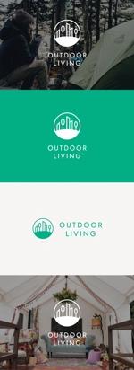 tanaka10さんのアウトドア施設の運営会社「株式会社OUTDOOR LIVING」のロゴへの提案
