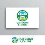 White-designさんのアウトドア施設の運営会社「株式会社OUTDOOR LIVING」のロゴへの提案