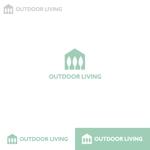 Puchi2さんのアウトドア施設の運営会社「株式会社OUTDOOR LIVING」のロゴへの提案