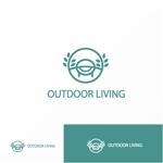 Jellyさんのアウトドア施設の運営会社「株式会社OUTDOOR LIVING」のロゴへの提案