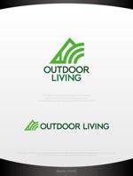 mahou-photさんのアウトドア施設の運営会社「株式会社OUTDOOR LIVING」のロゴへの提案