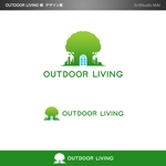 minami-mi-natzさんのアウトドア施設の運営会社「株式会社OUTDOOR LIVING」のロゴへの提案